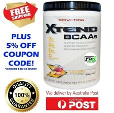 SCIVATION XTEND 30 SERVE EXTEND BCAA GLUTAMINE BRANCHED CHAIN AMINO ACIDS BCAAS