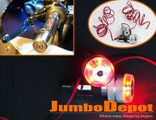 """Motorcycle ATV Handlebar Bar End LED Coner Turn Signal Light For KAWASAKI 7/8"""""""