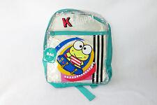 Sanrio Keroppi Frog Skateboard Clear Backpack Bag See Shrough NWT Vintage 1995
