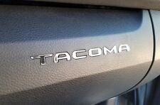 BDTrims | Chrome Plastic Letters for Toyota Tacoma 2016-2020  Glove Box Inserts