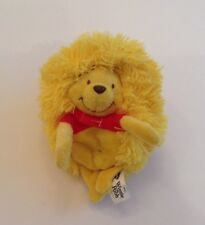 "DISNEY-WINNIE THE POOH HIDE AWAY PETS 5"" Plush Toy-So Cute-Rouleaux dans une boule"