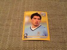 #84 Luis Suarez Uruguay PANINI WORLD CUP 2010 Swiss Gold Edition Pegatina Ajax