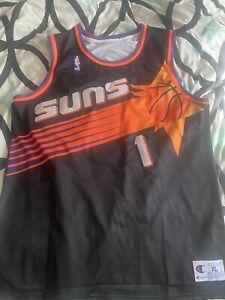 Phoenix Suns Penny Hardaway #1 Champion Vintage 1999-2000 Throwback Jersey S-2XL