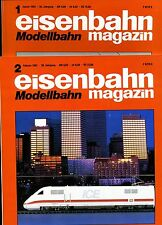 Eisenbahn Magazin Modellbahn --1992--Ausgabe 1+ 2 -- 2 Stück -