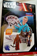 Star Wars Millennium Falcon Adventure Pack Paper Craft Blueprints Disney