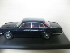 Daimler Double Six Serie2 SMTS Model Car 1/43 Dark blue Handbuilt.