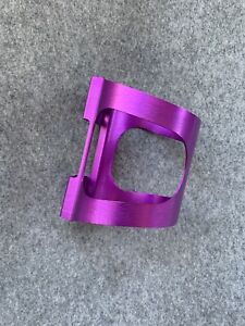 NOS Vintage Ringle 3DV Purple Anodized Bottle Cage