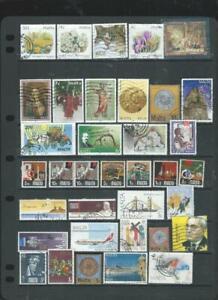 Malta lot 1 nice selection of used stamps good  range . [941]