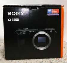 Sony Alpha a6500 24.2MP Digital Camera - Black (Body Only)