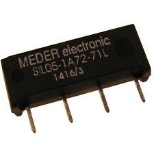 Meder sil05-1a72-71l Relais 5v 1xein 500 Ohm Sil Reed Relay sin diodo 047175