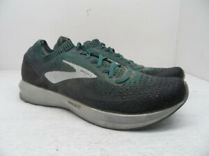 Brooks Men's Levitate 2 Road-Running Shoes Mallard Green/Grey/Black 11.5M