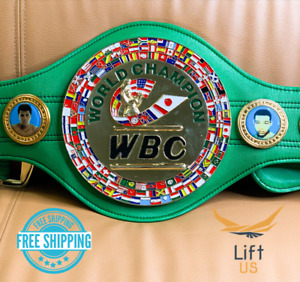 WBC WORLD CHAMPIONSHIP WORLD BOXING COUNCIL REPLICA BELT Adult Size NEW