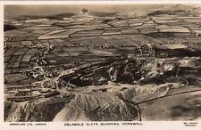 Delabole Slate Quarries Mining Trebarwith Camelford Aerial View RP pc Aerofilms