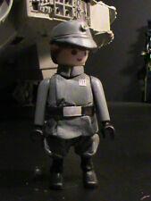 PLAYMOBIL CUSTOM    COMANDANTE IMPERIAL STAR WARS  REF-0013
