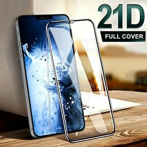 10D Full Cover Tempered Glass Screen Protector For iPhone 12 Mini 11 Pro Max XR
