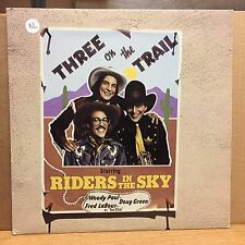 Riders in the Sky Three on the Trail VG+ LP Rounder Top Hit: Don't Fence Me In