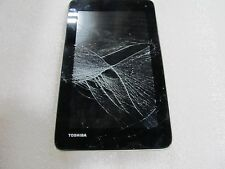 Toshiba Excite 7c 8GB Wi-Fi Android Tablet Model: AT7-B8  cracked screen (33024)