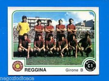 CALCIATORI PANINI 1980-81 - Figurina-Sticker n. 505 - REGGINA SQUADRA -New