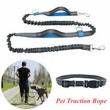 Hands Free Pet Dogs Lead Running Belt Waist Hiking Belt Leash Dacron Elastic Set