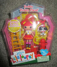 LALALOOPSY MINI EMBER FLICKER FLAME FIGURE SERIES 6 #1 VERY RARE GOLDEN BUTTON