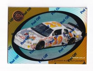 1997 Pinnacle Certified MIRROR GOLD #54 Jeff Green's Car SUPER SCARCE