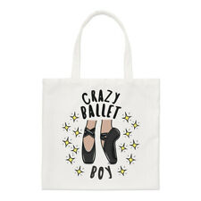 Crazy Ballet Boy Stars Regular Tote Bag Ballerina Dancing Funny Shopper