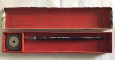 Vtg Eagle Pencil Co Quill Pen w/ Eraser in Original Box Blossom Heath B3
