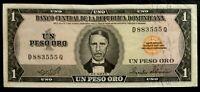 DOMINICAN REPUBLIC 1 Peso Oro 1975  aUNC P.108a