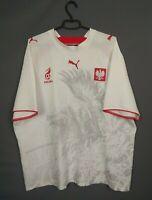 Poland Jersey 2006 2007 Home Size XXL Shirt Football Soccer Puma ig93