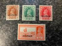 BAHRAIN POSTAGE STAMPS SG21-24 LIGHTLY-MOUNTED MINT