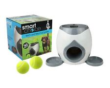Fetch & Treat Dog Feeder Tennis Ball Game Training Interactive Pet Puppy Grey