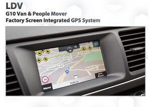 LDV G10 2014 - 2016 / GPS Navigation retrofit for factory infotainment