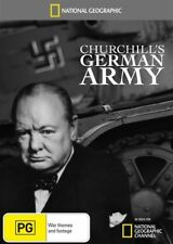 National Geographic - Churchill's German Army (DVD, 2010) Region 4 Excellent con