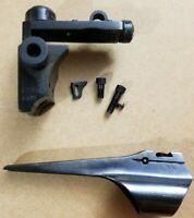 Lyman 48M Mauser Rifle Rear Peep Sight + Lyman Mauser Front Sight Base .605
