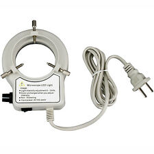 AmScope LED-56S-ZK 56 LED Reinforced Microscope Ring Light with Dimmer