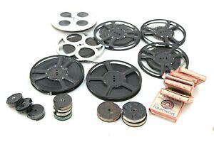 22x Pathe/Pathescope BABY+ 9.5mm spools:chaplin/popeye/collector cine/movies