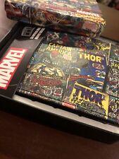 Marvel Slimfold Wallet With Collector Tin, Vintage Comics. Stamped Design.