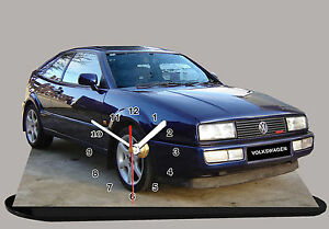 MODEL CARS, VOLKSWAGEN GOLF CORRADO - 16V--01,11,8x 7,8 inches with Clock