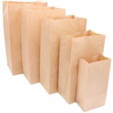 Food Small Gift Paper Bags Sandwich Food Takeout Wrapping Wedding Party Supplies