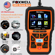 Foxwell Universal Car Code Reader OBD2 Auto Scanner Diagnostic Tool Live Data