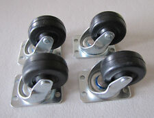 4 New Rock-ola Casters Wheels Jukebox Models 1458 1462 1464 1465 1468 1475 1478