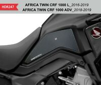 Protezioni laterali nere per serbatoio e carena HONDA AFRICA TWIN CRF 1000 ADV