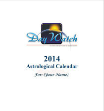 ASTROLOGY REPORT 12 MONTH PERSONAL TRANSIT CALENDAR CD EMAIL 15% OFF 2+