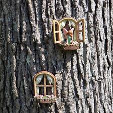 Miniature Garden Fairy Windows, 2 Piece Set