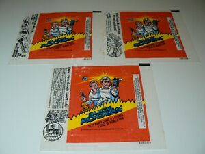 ** BUCK ROGERS WAX WRAPPER SET EXCELLENT CONDITION **