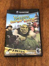 Shrek: Smash n' Crash Racing Nintendo GameCube 2006 Complete w/Manual Tested CIB