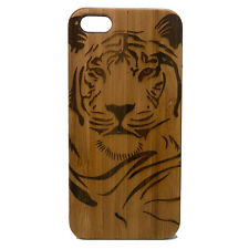Tiger Case for iPhone 6 6S Bamboo Wood Cover Big Cat Wild Jungle Totem