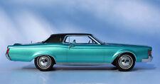 "1970 Lincoln Continental Mark III Aqua Automodello 1:24 ""Factory Flawed"""