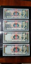 EXCELLENT OPPORTUNITY NICARAGUA 100 CORDOBAS. FROM 1990-2000. 4 DIFFERENT NOTES.