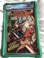 Amazing Spider-Man #101, CGC 3.5 Custom Label, 1st App Of Morbius *HOT KEY ISSUE